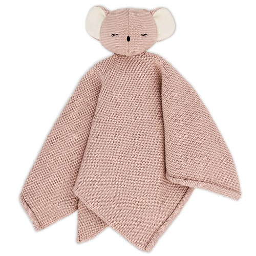 eco-knuffeldoek, Koala Kiki, rose