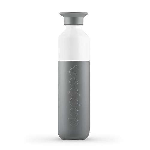 Dopper Isoleerfles, Glacier Grey, klein, 350 ml