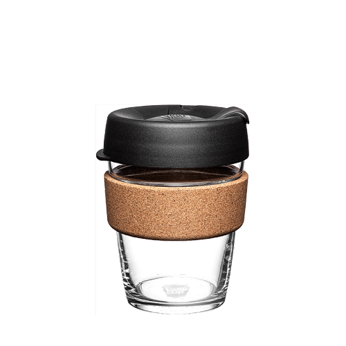KeepCup reisbeker glas, 340 ml,  black