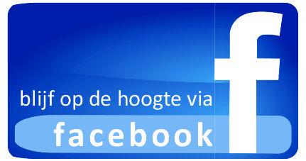 Blijf op de hoogte via Facebook